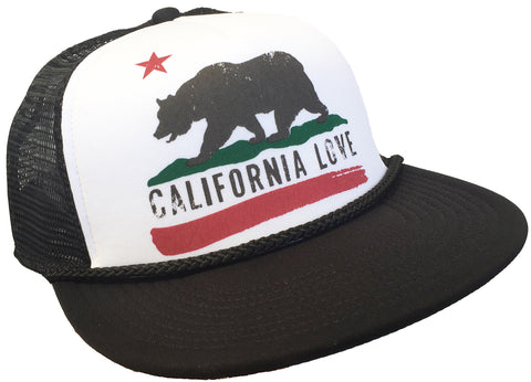 Brooklyn Hat Co California Love Flat Brim Snap Back