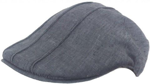 Headchange Made in USA 100% Linen Ivy Newsboy Cap