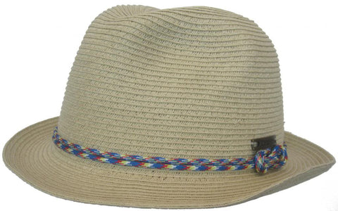 Christys Stiltsville Paper Braid Fedora Knot Band