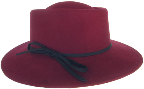 Brooklyn Hat Co Wrangler Womens Wool Felt Music Festival Hat