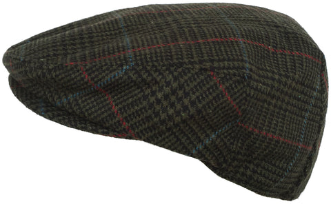 7e3980ef4e4 Plaid Wool Blend Ivy Scally Cap Houndstooth Driver Hat Newsboy ...