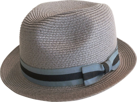 Brooklyn Hat Co Bedford Straw Fedora