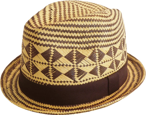 Brooklyn Hat Co Na Pali Paper Straw Fedora