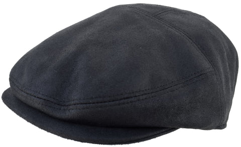 Henschel Faux Suede Ivy Cap Modified 5 Point Driver Hat