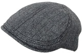 Brooklyn Hat Co Park Slope Wool Herringbone Ivy Cap Newsboy