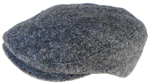 Wool Tweed Blend Ivy Scally Cap Modern Cut