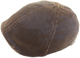Dorfman Pacific Weathered Cotton Ivy Cap 6 Panel Pub Hat Duck Bill Scally
