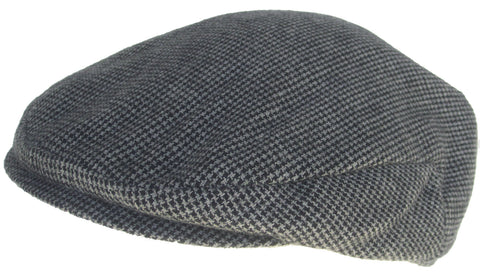 Headchange Hounds Tooth Winter Newsboy Cap