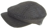 Christys' Crown Big Bill Longshoreman Newsboy Cap Euro Cut Ivy Scally Driver Hat