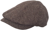 DPC 6 Panel Wool Blend Newsboy Cap Duckbill Scally Ivy Hat Winter Driver