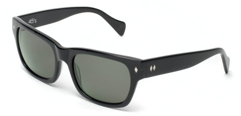 "Tres Noir Optics ""The 45's"" Large Wayfarer Sunglasses"