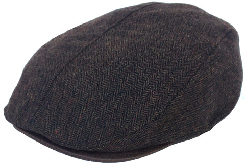 DPC Wool Blend Herringbone Ivy Scally Cap
