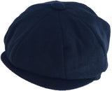 Broner Wool 8 Panel Newsboy Cap Apple Jack Gatsby Hat
