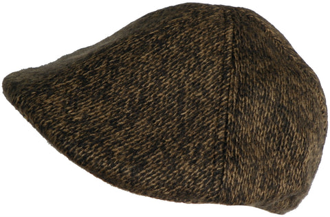 Geoffrey Beene Knit Ivy Scally Cap 6 Panel Duck Bill Newsboy Hat