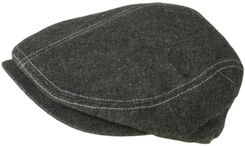 "Christys Crown ""Discine"" Ivy Scally Cap Linen Newsboy"