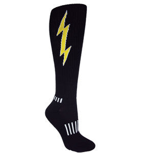 Lightning Bolt Mud-run Socks