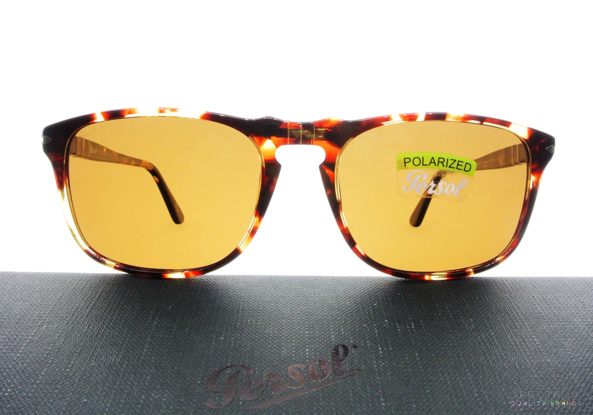 1b9c43d584b ... Persol Sunglasses 3059S 985 57 Tabacco Virginia with Polarized Brown  Lenses Size 54 ...