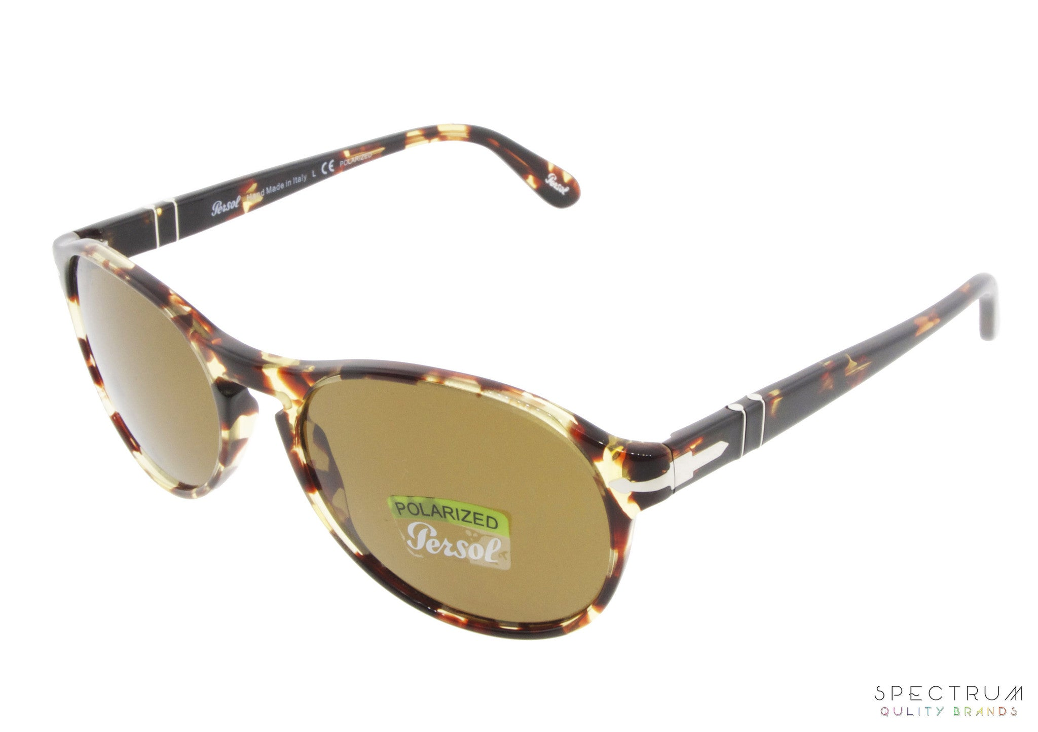 04b09f59d3d Persol Sunglasses 2931S 985 57 Tabacco Virginia with Polarized Brown Lenses  Size 55