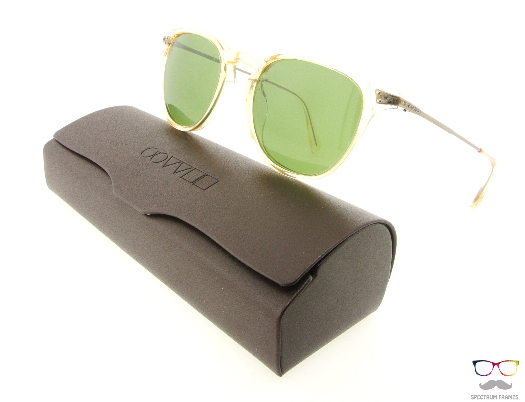 243a47c5d4 Oliver Peoples Sunglasses Ennis 5264S 1094R5 Buff with Green Lenses