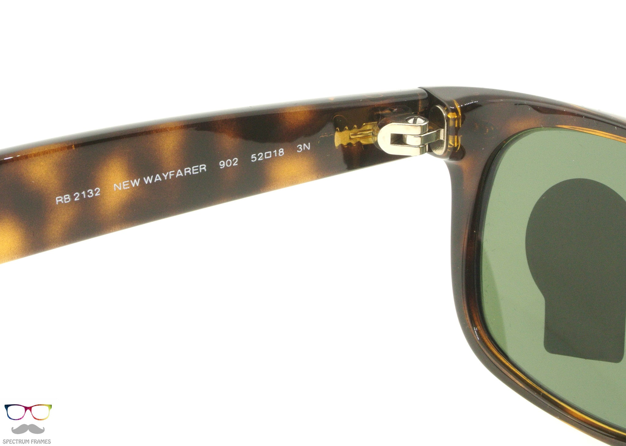 ... Ray Ban Sunglasses RB 2132 902 Tortoise with Green G15 Lens Size 52 ... 96905e675fb2