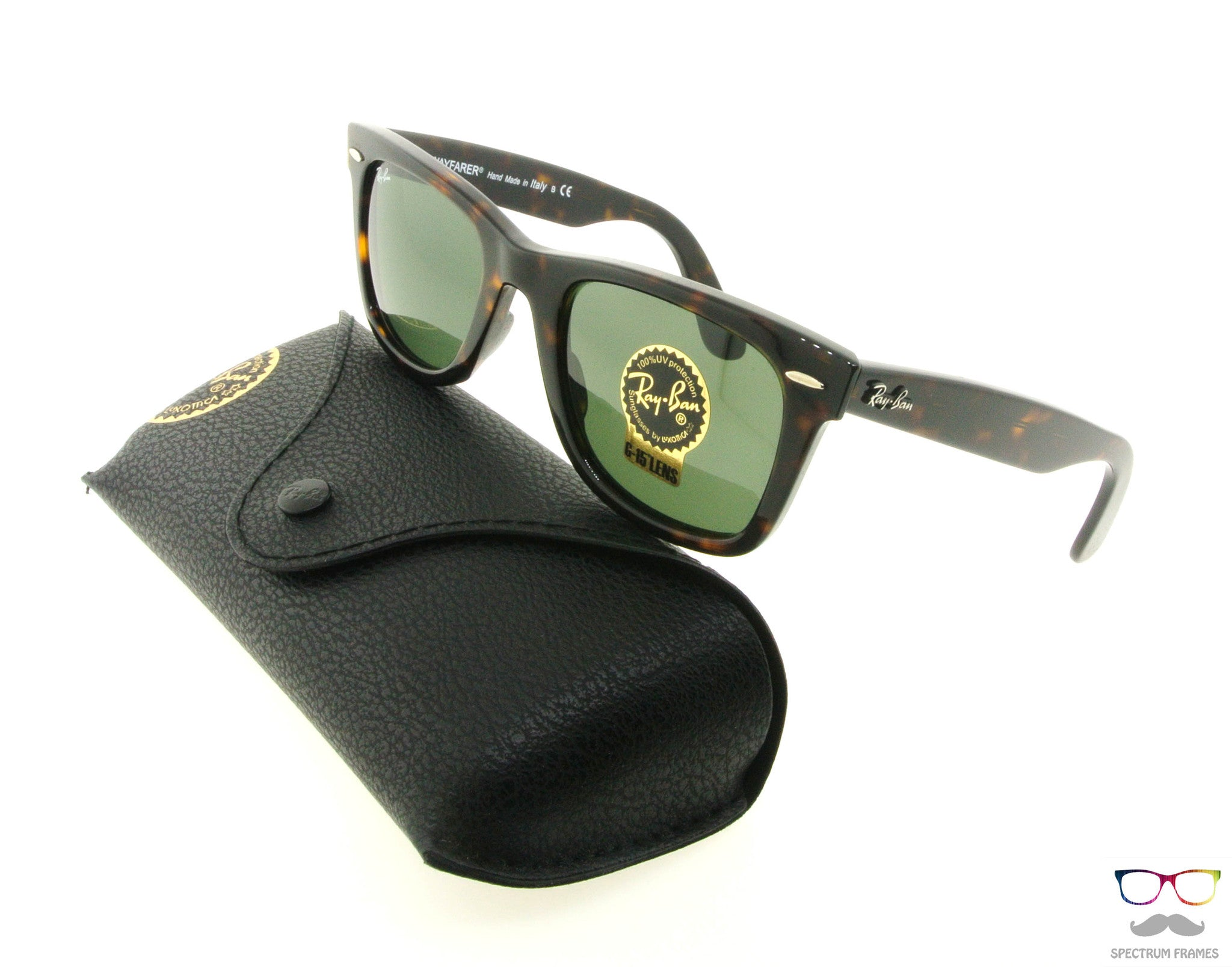 ray ban 2140 902  Ray Ban Sunglasses RB 2140 902 Tortoise with Green G15 Lens Size ...