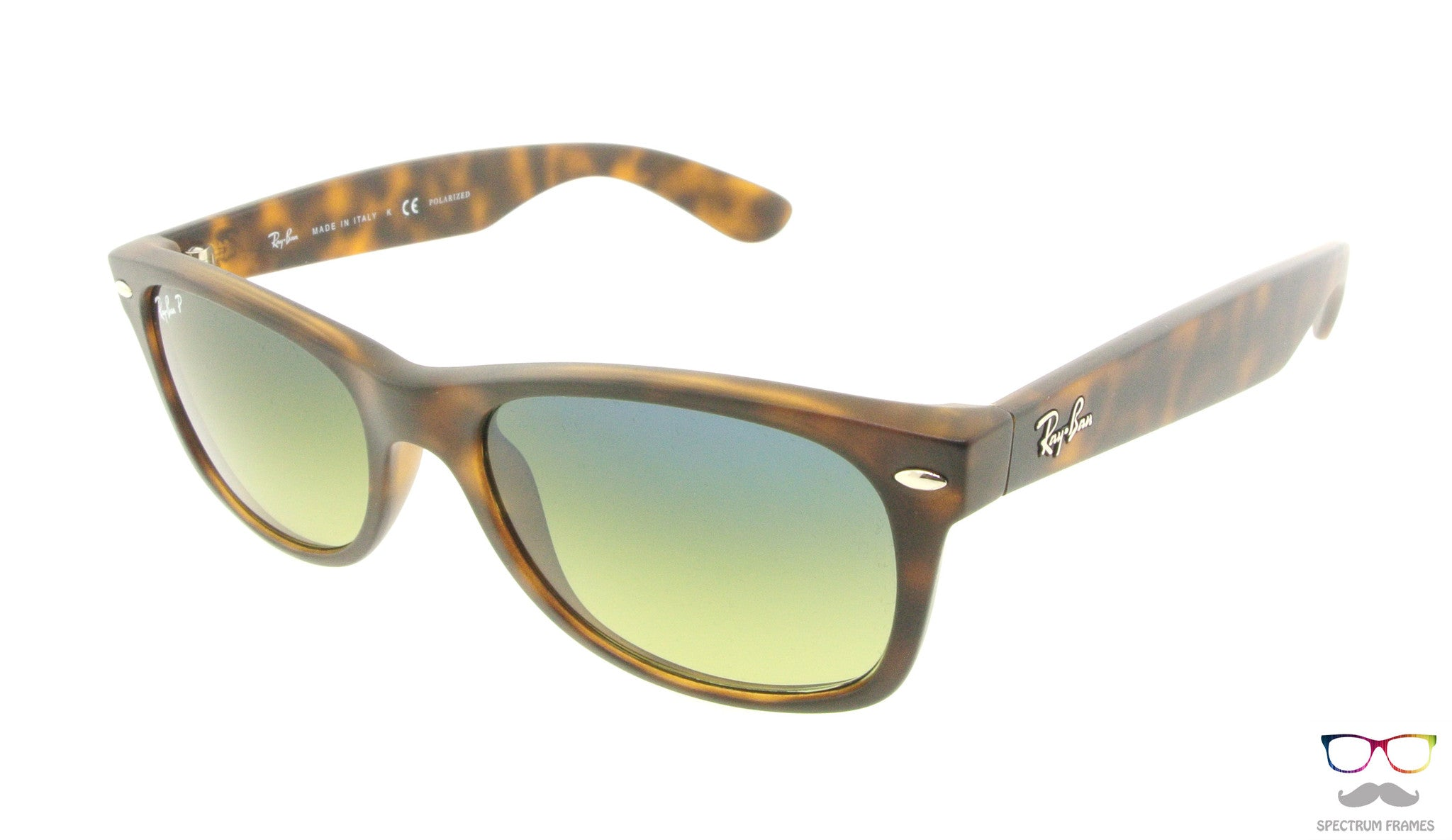 1c6e0dac21 Ray Ban Sunglasses RB 2132 894 76 Havana with Gradient Polarized Lens Size  55