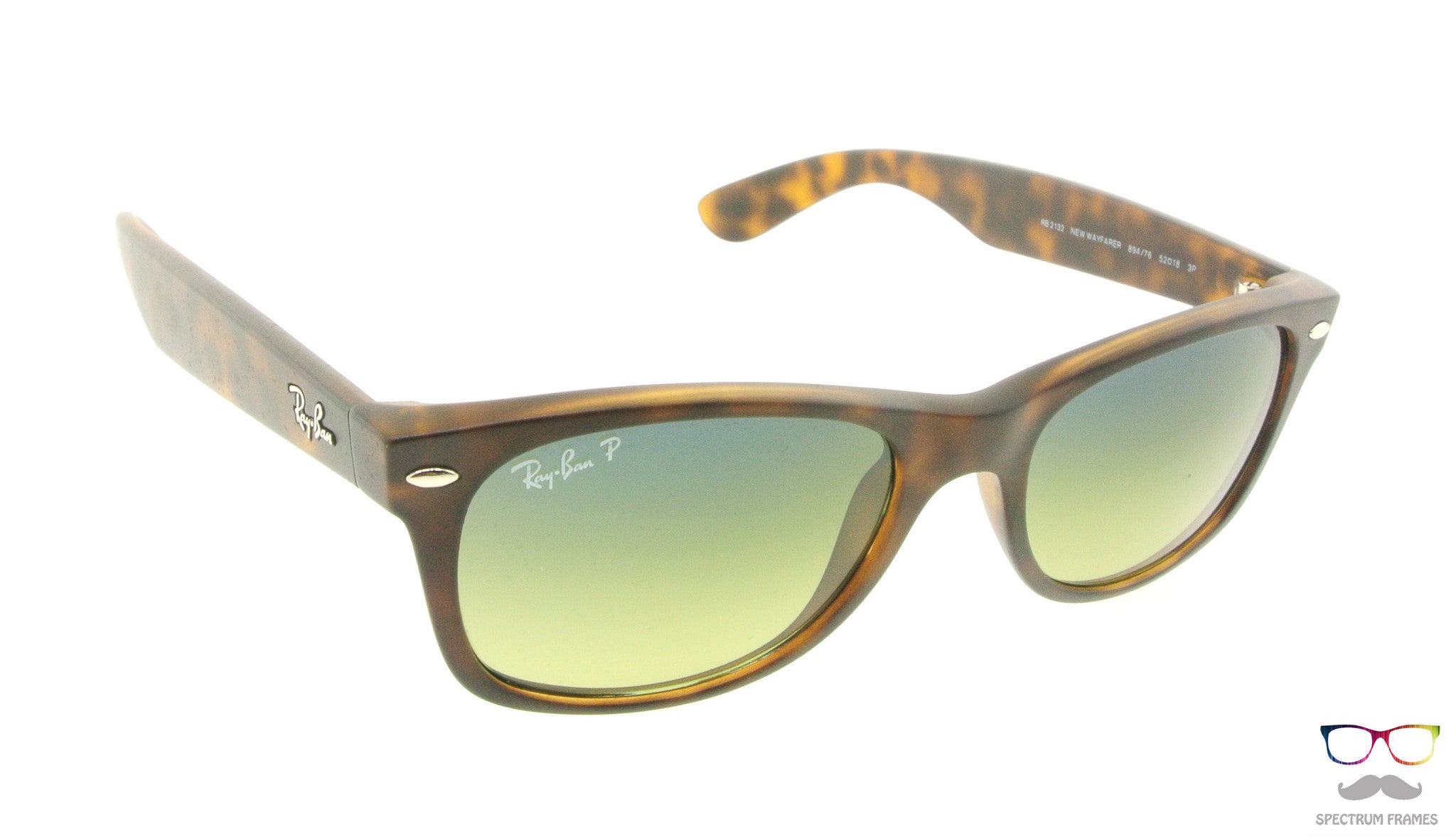 64fbab1aab8 ... Ray Ban Sunglasses RB 2132 894 76 Havana with Gradient Polarized Lens  Size 52 ...