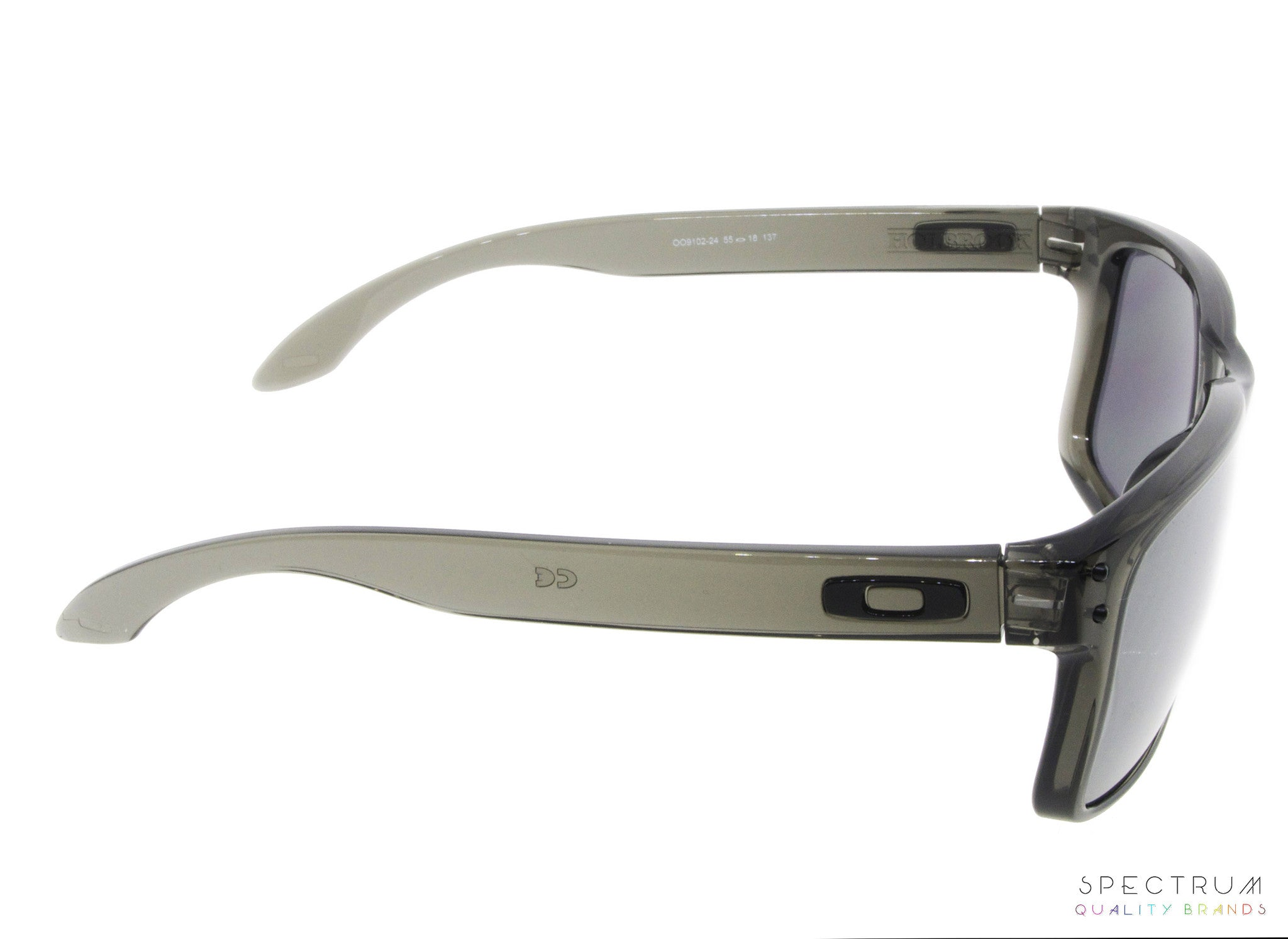 d258479ada Oakley Sunglasses Holbrook OO9102 - 24 Grey Smoke with Black Iridium Lenses