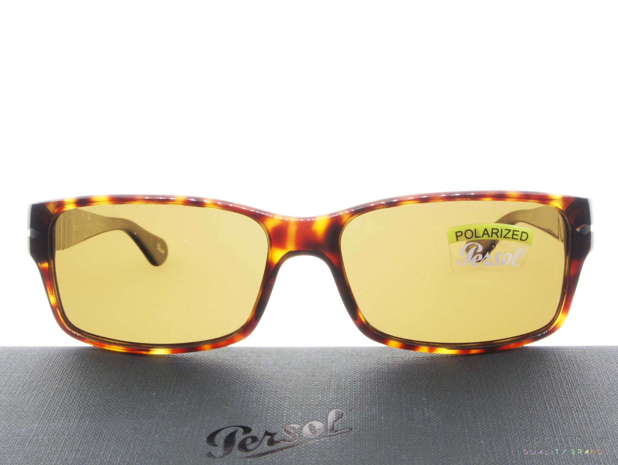 87c7ff0324 Persol Sunglasses 2803S 24 57 Havana with Brown Polarized Lenses Size 58