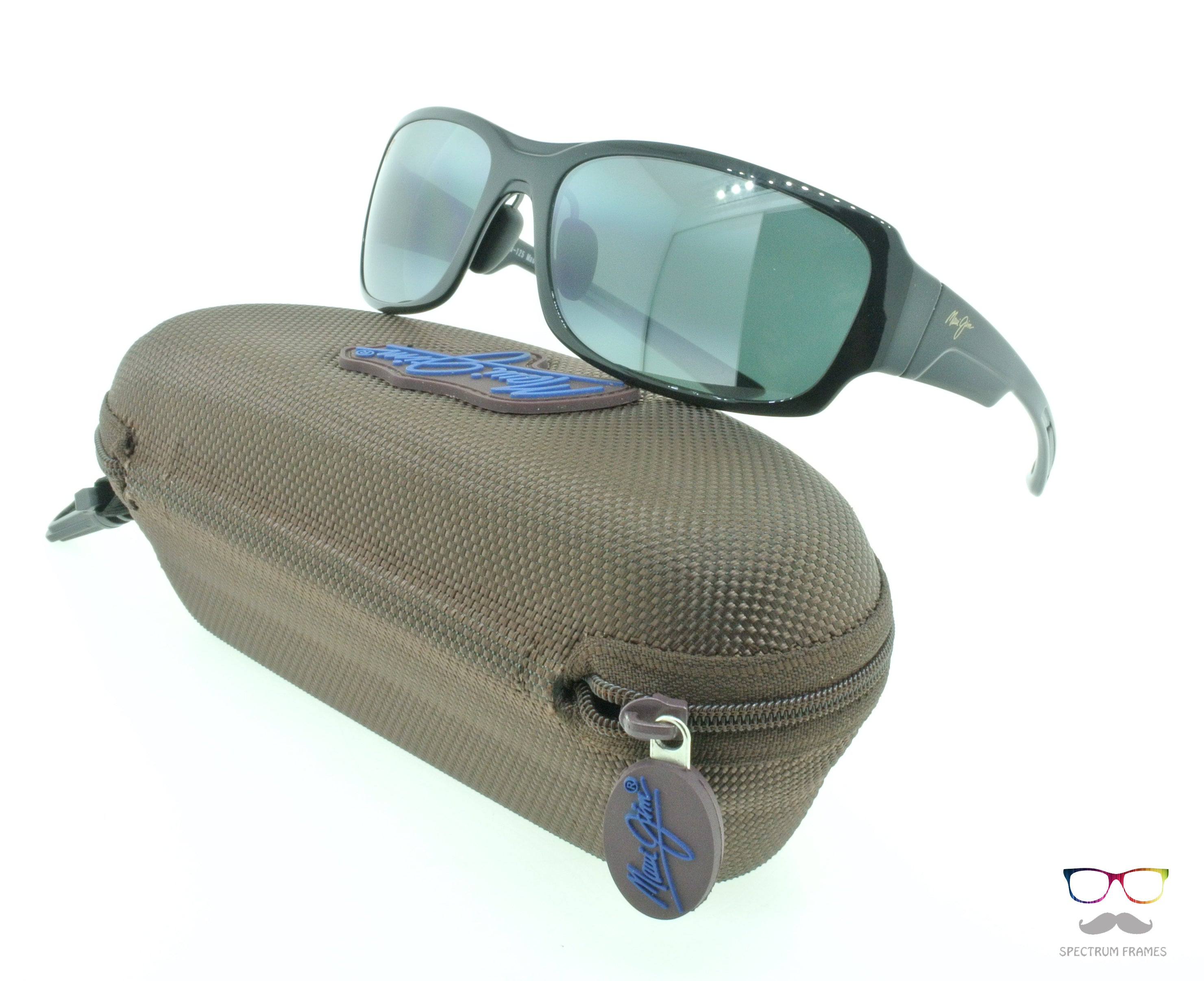 0bfd5fe7315 Maui Jim Sunglasses Bamboo Forest 415-02J Black Fade   Neutral Grey  Polarized Lenses