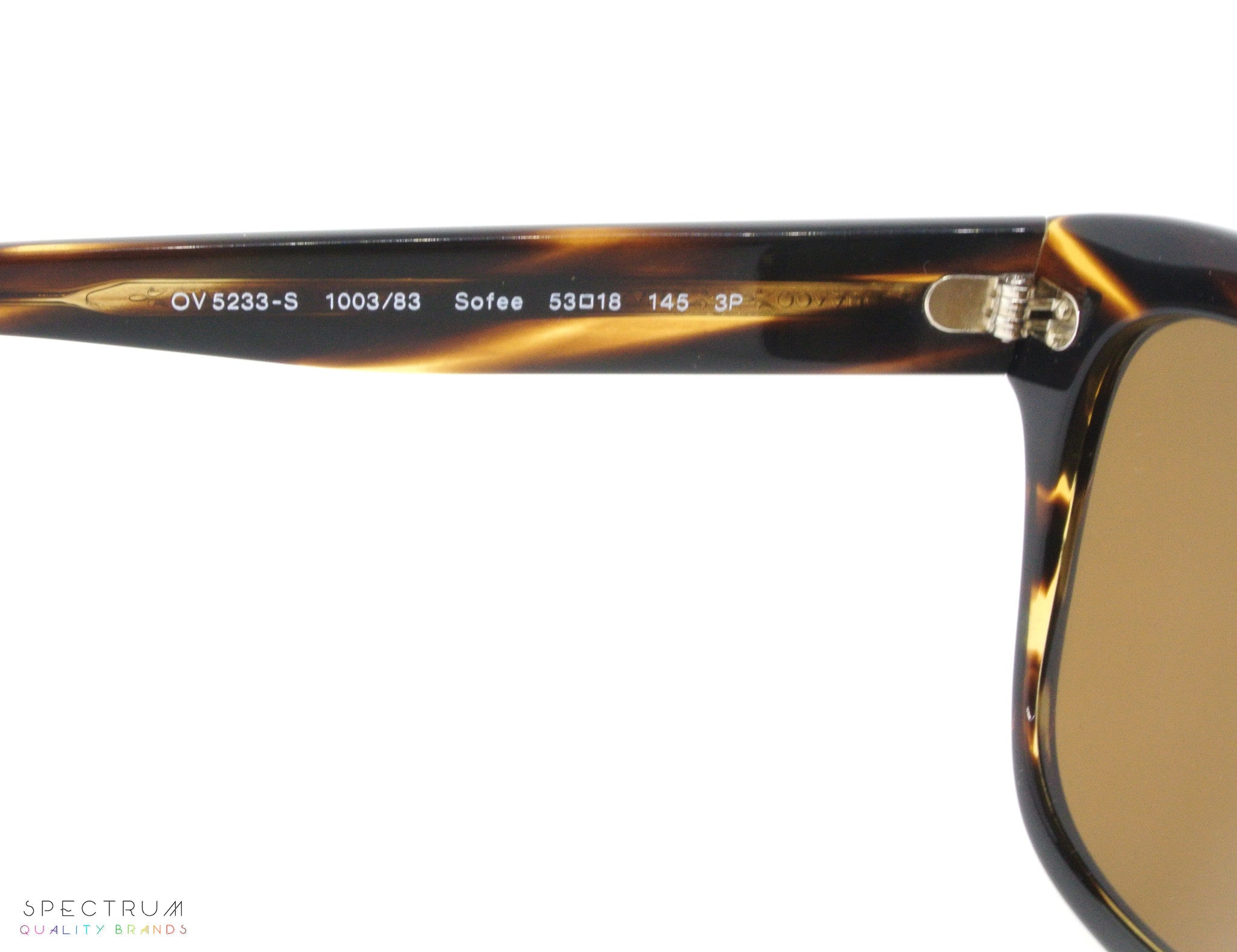 591fe76b0 ... Oliver Peoples Sunglasses Sofee 5233S 1003/83 Cocobolo with Brown  Polarized Lenses ...