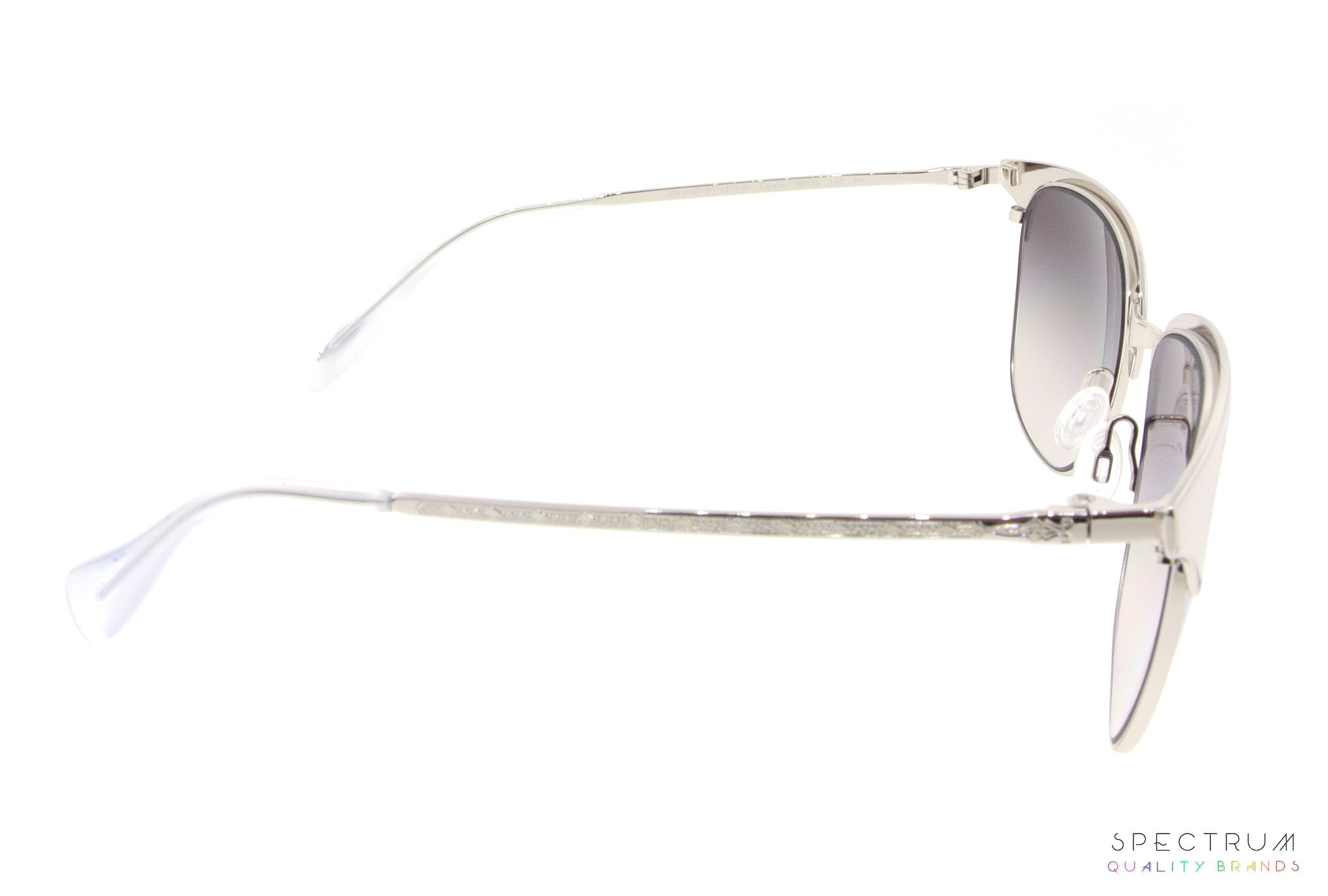 6b00af2113 Oliver Peoples Sunglasses Leiana 1157S 5211 6I Silver with Silver Gradient  Mirrored Lenses