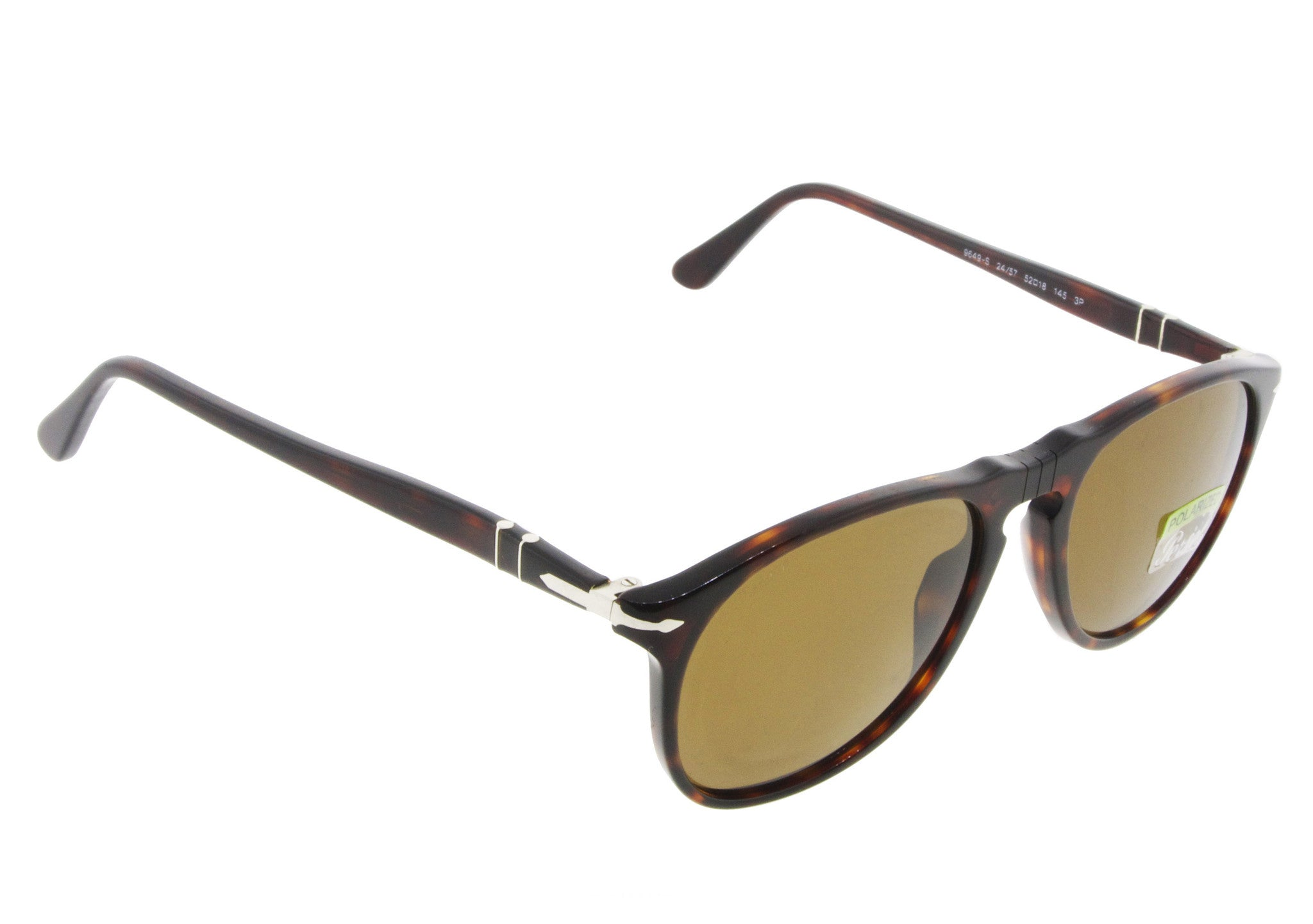 Persol Sunglasses 9649S 24/57 Havana with Brown Polarized Lenses ...