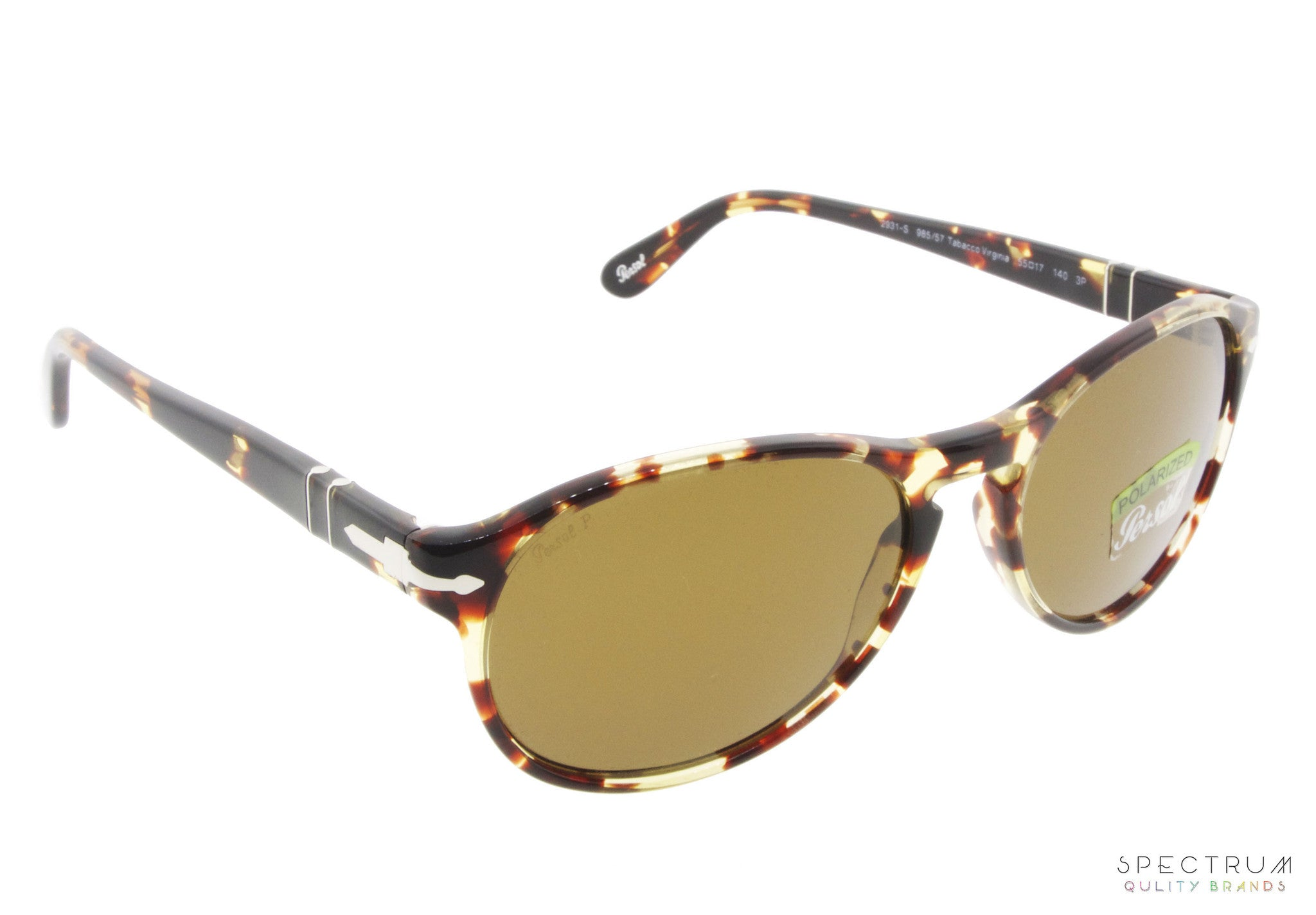 1c03a5827a Persol Sunglasses 2931S 985 57 Tabacco Virginia with Polarized Brown Lenses  Size 55