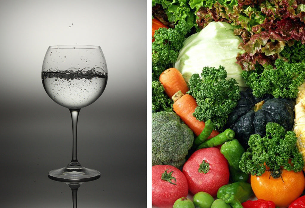 Eat well and drink much water