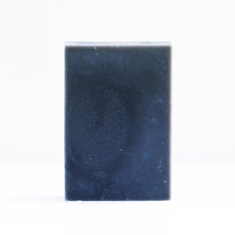 Carbon Star soap bar with coconut charcoal, may chang, cedar & lavender