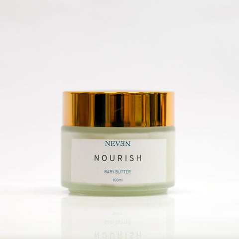 Nourish organic mama and baby balm with cocoa butter