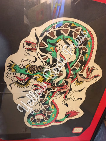 Coleman dragon limited edition gicl e prints now in for Spaulding rogers tattoo