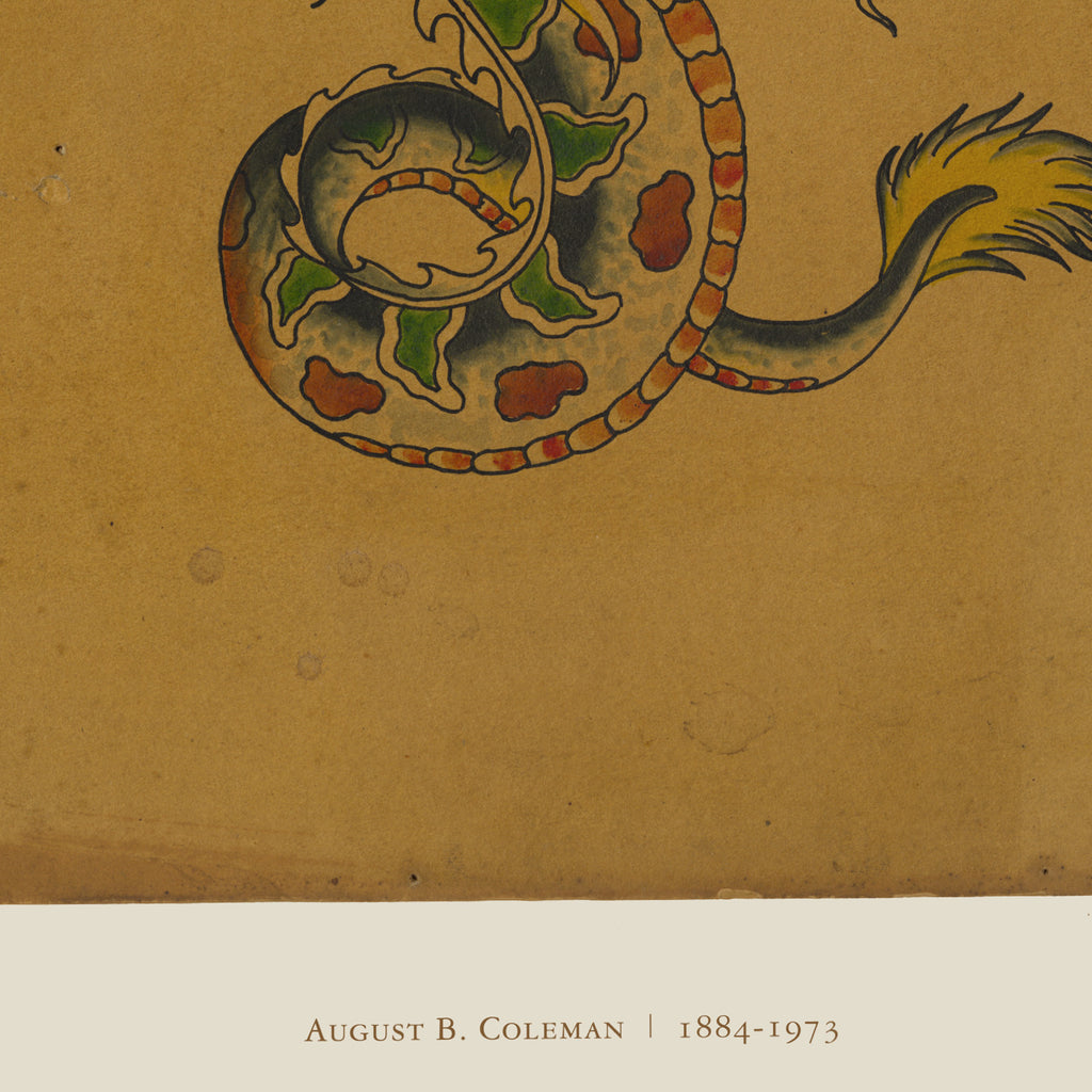 Coleman Dragon Limited Edition Giclée Print