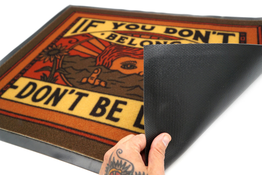 DON'T BE LONG DOORMAT
