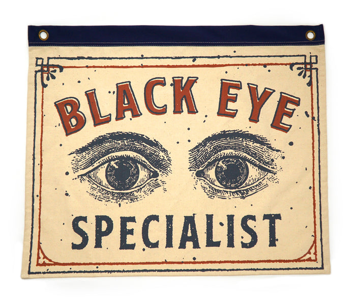 Black Eye Specialist Hemp Banner