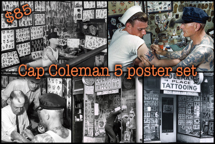 Cap Coleman Five Poster Set
