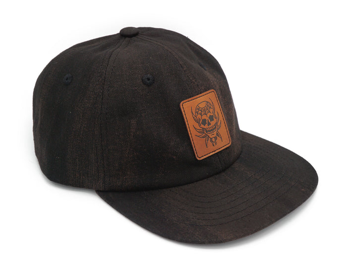 Nick Filth Spider Skull Hat