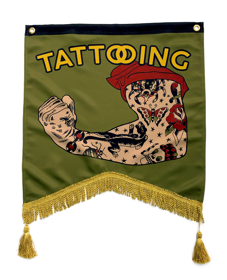 Tattooing Banner
