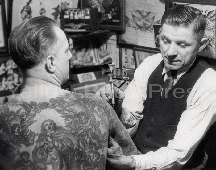 Charlie Wagner Tattooing 11x14 poster