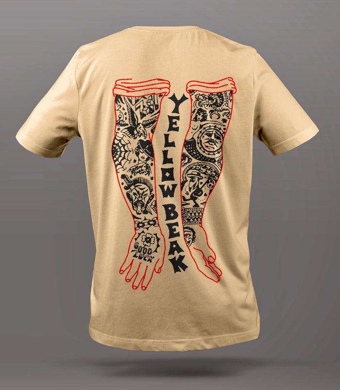 TATTOOED ARMS T-SHIRT