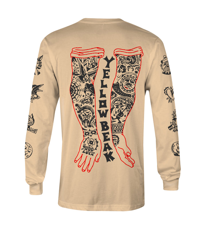 TATTOOED ARMS LONG SLEEVE SHIRT