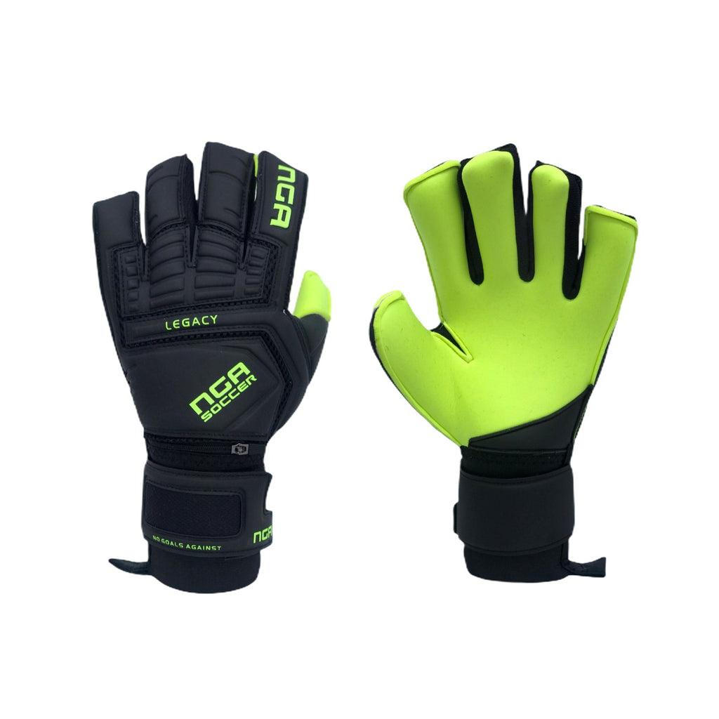 NGA 2020 Legacy Goalkeeper Glove, Black/Neon