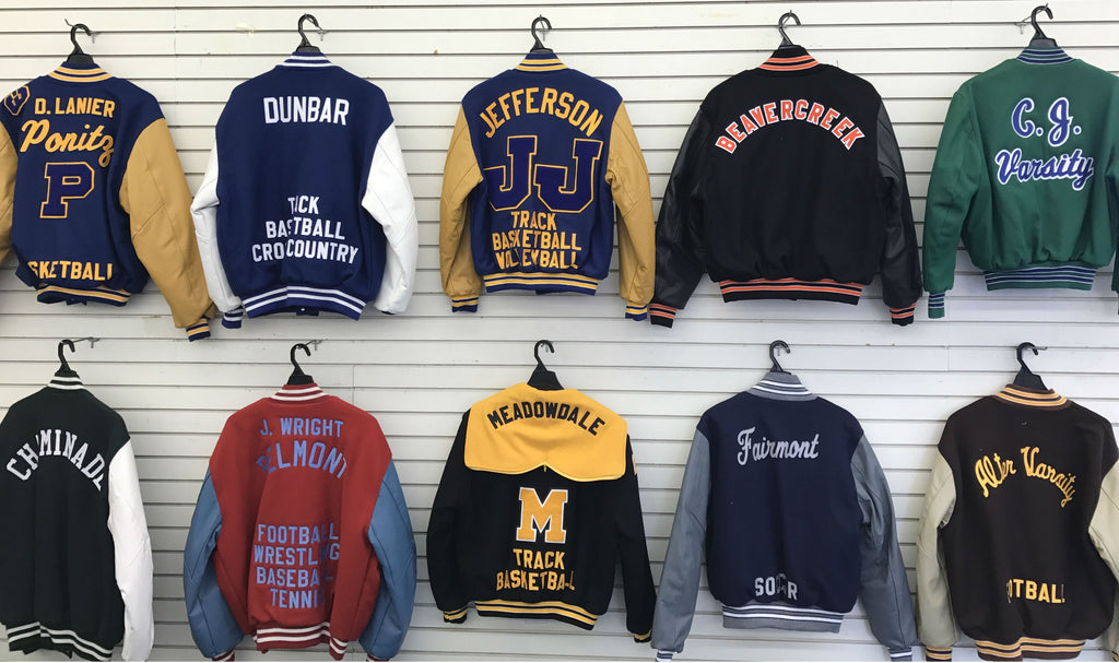Letterman Jackets Tuffy Brooks Sporting Goods