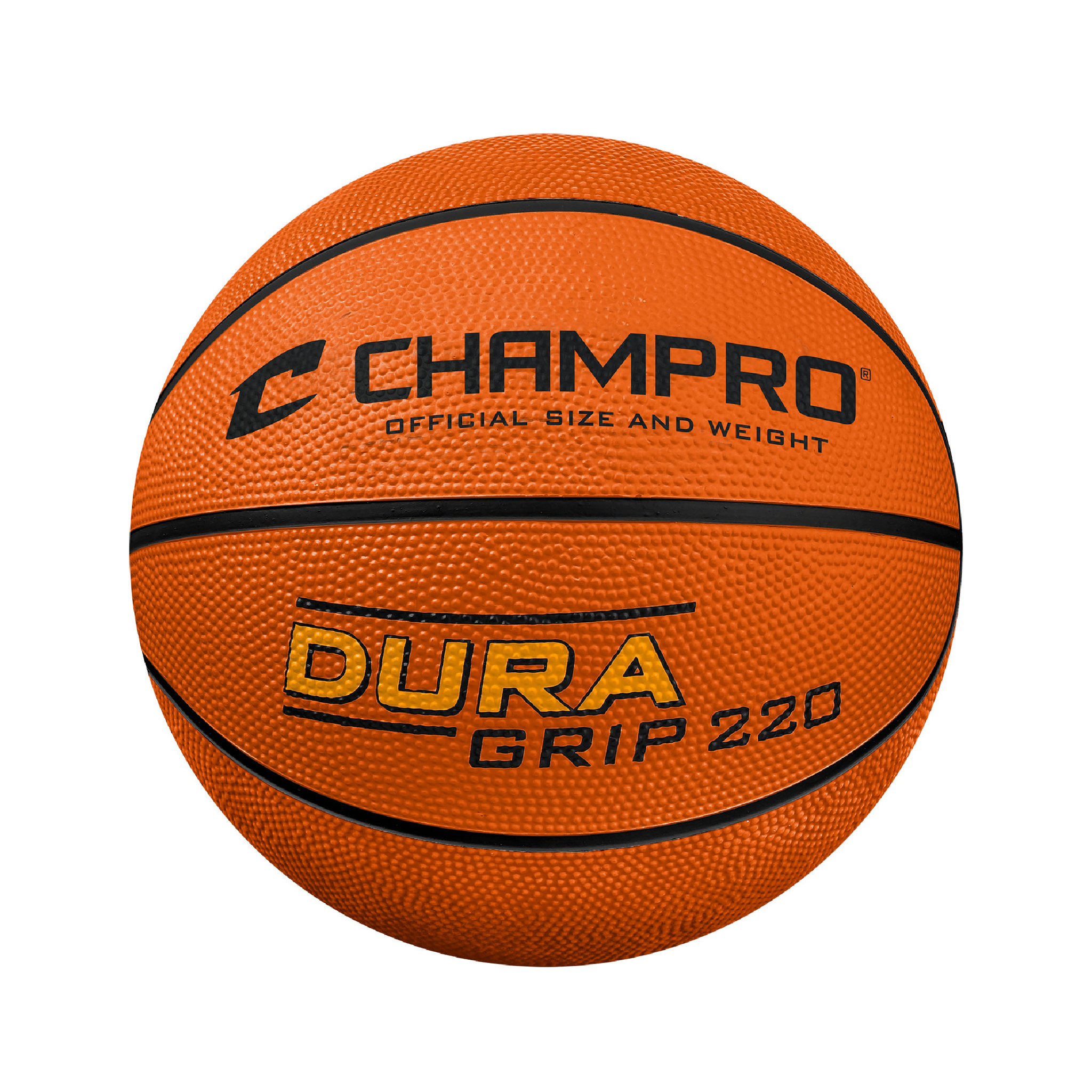 Champro Dura-Grip 220 Official Size Rubber Basketball